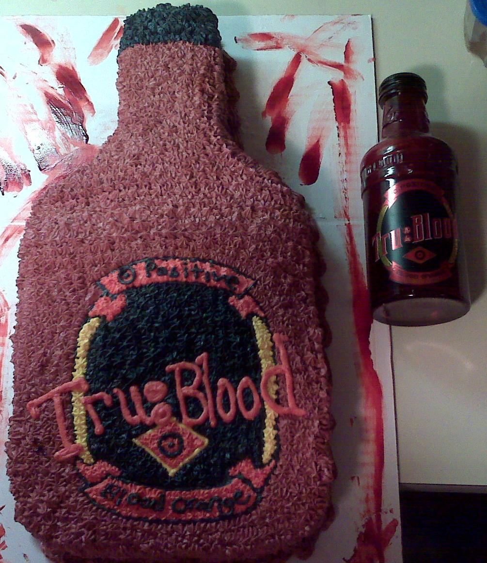 The True Blood Cake