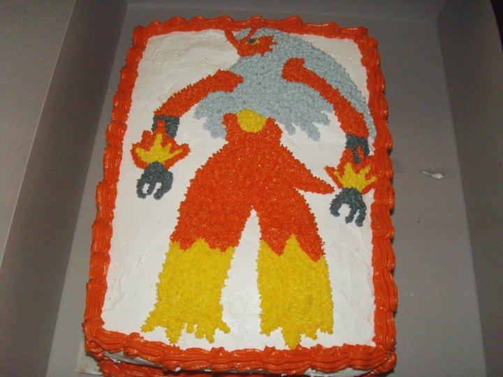 Blaziken Cake