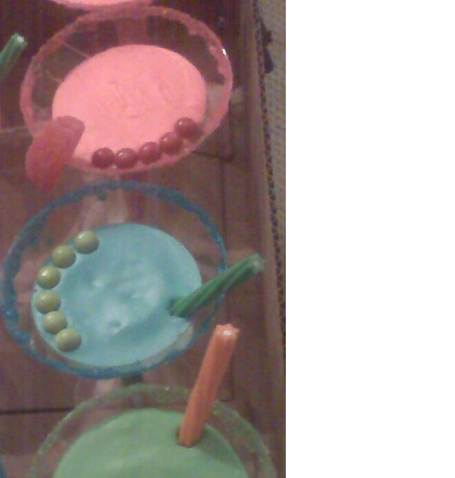 Martini Cupcakes!